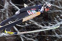 Hopp - FIS World Cup - Bad Mittendorf / Kulm<br /> 31.01.2003<br /> Henning Stensrud - Norge<br /> Foto: Calle Törnström, Digitalsport