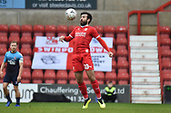 Swindon Town midfielder Michael Doughty (10) controls during the The FA Cup 2nd round match between Swindon Town and Woking at the County Ground, Swindon, England on 2 December 2018.