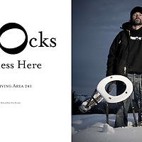 Frequency snowboard magazine (USA), editorial feature on Mike Basich/Area 241.
