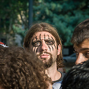 I fans di Alice Cooper al concerto di Milano<br /> <br /> Alice Cooper fans at the concert in Milan