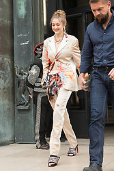 Gigi Hadid arriving at Heron Preston fashion Show during Menswear Spring/Summer 2020 on June 18, 2019 in Paris, France. Photo by Nasser Berzane/ABACAPRESS.COM