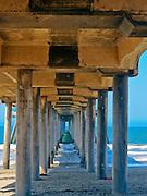Under the Huntington Beach Pier