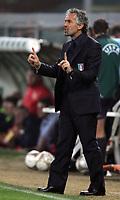 Genova 13/10/2007 Euro2008 Qualifying round - group B. qualificazioni Euro2008<br /> <br /> Italia Georgia - Italy Georgia 2-0<br /> <br /> Italy's trainer Roberto Donadoni<br /> <br /> L'allenatore della nazionale italiana Roberto Donadoni<br /> <br /> Foto Andrea Staccioli Insidefoto