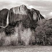 Yosemite Falls - Late Autumn