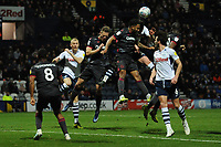 Preston North End's Paul Huntington vies for possession with Reading's Liam Moore<br /> <br /> Photographer Kevin Barnes/CameraSport<br /> <br /> The EFL Sky Bet Championship - Preston North End v Reading - Sunday 29th December 2019 - Deepdale Stadium - Preston<br /> <br /> World Copyright © 2019 CameraSport. All rights reserved. 43 Linden Ave. Countesthorpe. Leicester. England. LE8 5PG - Tel: +44 (0) 116 277 4147 - admin@camerasport.com - www.camerasport.com