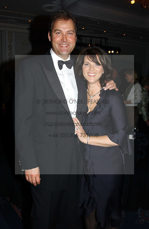 The HON.HARRY & MRS HERBERT at the 2004 Cartier Racing Awards in association with the Daily Telegraph, held at the Four Seasons Hotel, London on 17th November 2004.<br /><br />NON EXCLUSIVE - WORLD RIGHTS