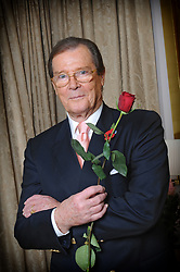 File Photo - Actor Roger Moore poses in Paris, France on October 30, 2008. Actor Sir Roger Moore, best known for playing James Bond, has died aged 89, his family has announced. He played the famous spy in seven Bond films including Live and Let Die and the Spy Who Loved Me. Photo by Pascal Baril/Planete Bleue Images/ABACAPRESS.COM