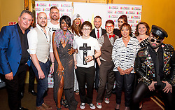 (EXCLUSIVE PICTURES) Sinitta bares breast at LGBT+ talent Awards at the Charing Cross Theatre in London, UK. 15/05/2016<br /> BYLINE MUST READ : GOTCHAIMAGES.COM<br /> <br /> Copyright by © Gotcha Images Ltd. All rights reserved.<br /> Usage of this image is conditional upon the acceptance <br /> of Gotcha Images Ltd, terms and conditions available at<br /> www.gotchaimages.com