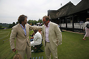 Arpad Busson and Tara Getty, Guy Leymarie and Tara Getty host The De Beers Cricket Match. The Lashings Team versus the Old English team. Wormsley. ONE TIME USE ONLY - DO NOT ARCHIVE  © Copyright Photograph by Dafydd Jones 66 Stockwell Park Rd. London SW9 0DA Tel 020 7733 0108 www.dafjones.com