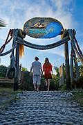 Ad Campaign: Entrance to Grajagan Resort, Ilha do Mel, Brazil