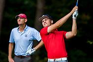 01-09-2016 Golffoto's van het Nationaal Open op de Hilversumsche Golf Club in Hilversum. Ronde 3.  Mike Korver