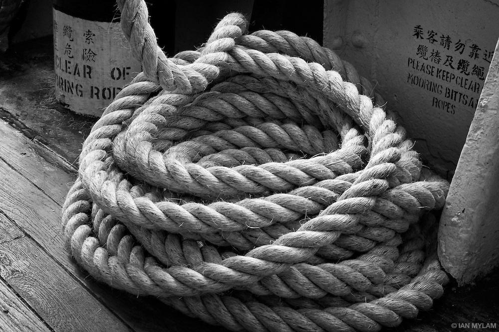 Ship's Rope - Hong Kong, China