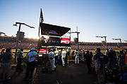May 20, 2017: NASCAR Monster Energy All Star Race. 24 Chase Elliot, Mountain Dew Chevy pit crew