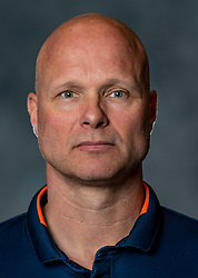 14-05-2019 NED: Photoshoot national volleyball team Women, Arnhem<br /> Ass coach Marko Klok of Netherlands