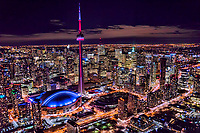 CN Tower & Rogers Centre (Skydome), Downtown Toronto