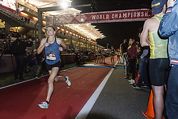 Beer Mile World Championships, Inaugural, Women's Elite race, Chris Kimbrough sees her world record slip away
