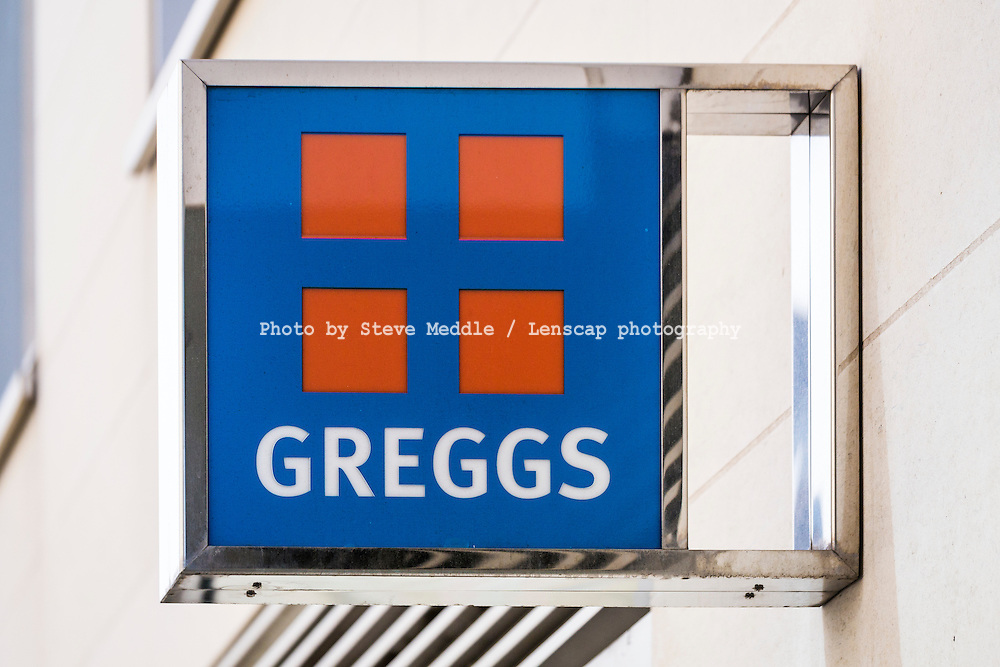 Greggs Bakers Shop Sign - Sep 2013.