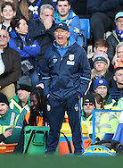 WBA's Tony Pulis looks on dejected during the Premier League match at Stamford Bridge Stadium, London. Picture date December 11th, 2016 Pic David Klein/Sportimage