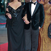 NLD/Amsterdam/20110527 - 40ste verjaardag Prinses Maxima, Trijntje Oosterhuis met haar broer Tjeerd Oosterhuis