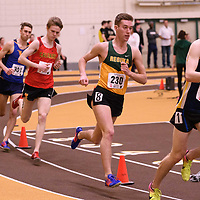 Alexander McBride in action during the 2018 Canada West Track & Field Championship on February  24 at James Daly Fieldhouse. Credit: Arthur Ward/Arthur Images