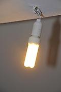 lit light lamp using an efficient Compact fluorescent lamp
