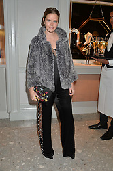 KATIE READMAN at the Crisian London Boutique Opening at 41-42 Dover Street, London on 18th November 2014.