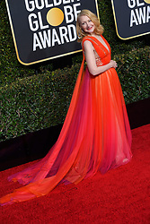 January 6, 2019 - Beverly Hills, California, U.S. - PATRICIA CLARKSON during red carpet arrivals for the 76th Annual Golden Globe Awards at The Beverly Hilton Hotel. (Credit Image: © Kevin Sullivan via ZUMA Wire)