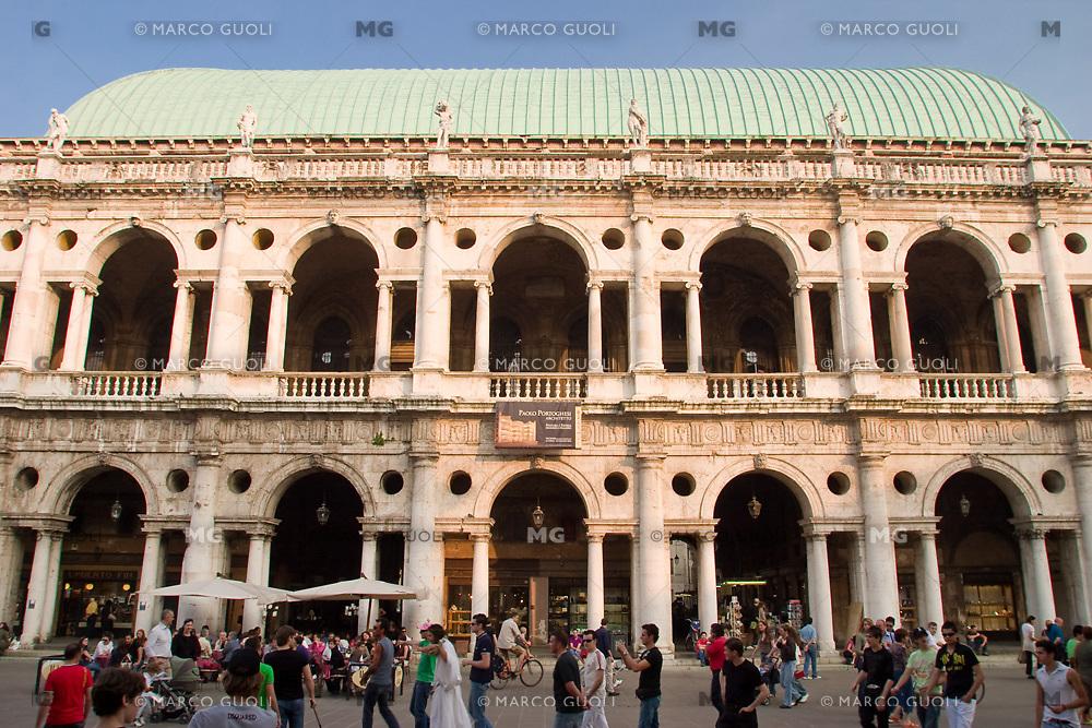 BASILICA PALLADIANA (architetto Andrea Palladio 1549), VICENZA, VENETO, ITALIA