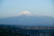 Mount Ararat in Turkey, seen from Armenia