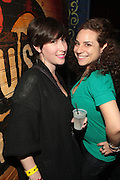 New York, NY- December 21: l to r: DJ Monica Fricner and Asya Sheine, founder & CEO of Fusicology at the Common Concert of his new Album ' The Dreamer/Believer held at the House of Blues  on December 21, 2011 in Los Angeles, CA. Photo Credit: Terrence Jennings