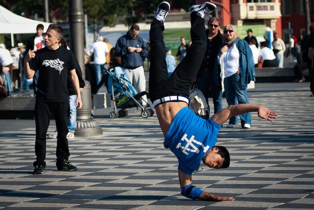 Breakdancers, Nice, France