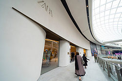 Edinburgh, Scotland, UK. 24 June 2021. First images of the new St James Quarter which opened this morning in Edinburgh. The large retail and residential complex replaced the St James Centre which occupied the site for many years. Pic; New Zara store. Iain Masterton/Alamy Live News