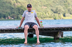 22.05.2017, Kalterer See, Kaltern, ITA, OESV, Nordische Kombinierer, Trainingskurs Kaltern, im Bild Lukas Klapfer // during a Trainingscamp of Austrian Nordic Combined Team at the Kalterer Lake, Kaltern, Italy on 2017/05/22. EXPA Pictures © 2017, PhotoCredit: EXPA/ JFK