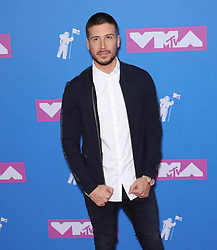 August 21, 2018 - New York City, New York, USA - 8/20/18.Vinny Guadagnino at the 2018 MTV Video Music Awards at Radio City Music Hall in New York City. at the 2018 MTV Video Music Awards at Radio City Music Hall in New York City. (Credit Image: © Starmax/Newscom via ZUMA Press)