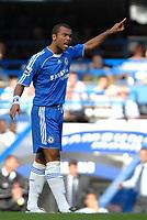 Photo: Ed Godden.<br />Chelsea v Charlton Athletic. The Barclays Premiership. 09/09/2006. Ashley Cole makes his Chelsea debut.