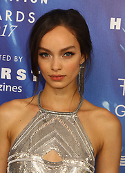 June 14, 2017 - New York, New York, U.S. - Model LUMA GROTHE attends the 2017 Fragrance Foundation Awards held at Alice Tully Hall in Lincoln Center. (Credit Image: © Nancy Kaszerman via ZUMA Wire)