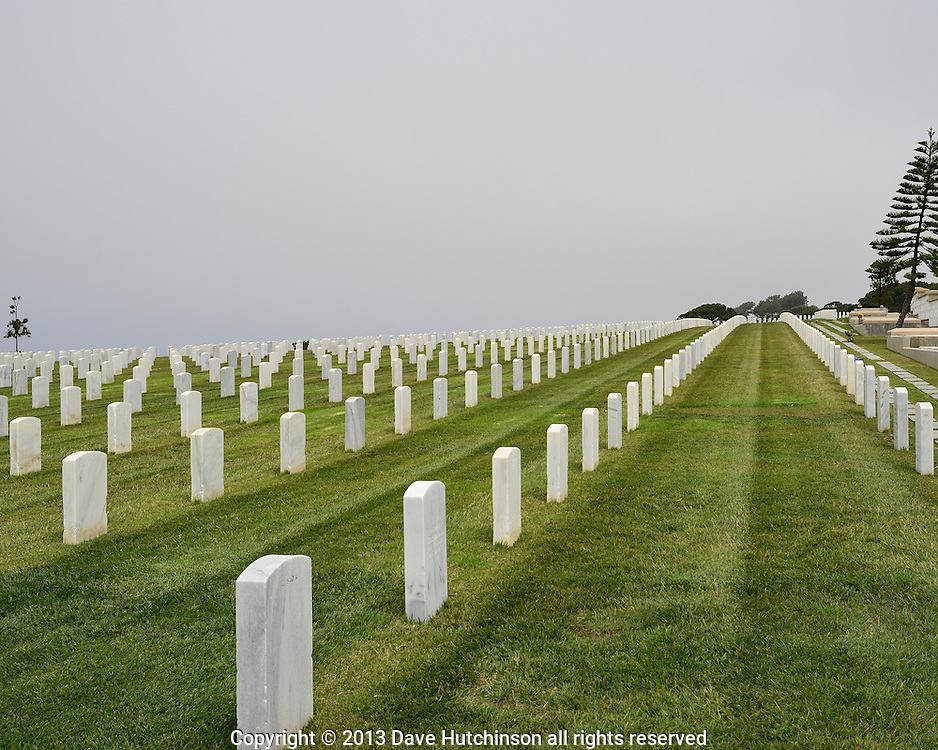 United States: California: San Diego County: San Diego: Fort Rosecrans National Cemetery at Point Loma.