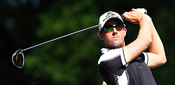 May 25, 2017 - Virginia Water, United Kingdom - Alexander Björk of Sweden  during 1st Round for the 2017 BMW PGA Championship on the west Course at Wentworth on May 25, 2017 in Virginia Water,England  (Credit Image: © Kieran Galvin/NurPhoto via ZUMA Press)