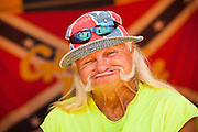 Freight Train, one of the hosts of the annual Summer Redneck Games Dublin, GA.