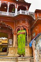Street scene, Jaipur, Rajasthan, India