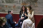DAVID LEIGH; JOSIE ISHERWOOD; KATHERINE FINERTY, The preview of LAPADA Art and Antiques Fair. Berkeley Sq. London. 21 September 2015.