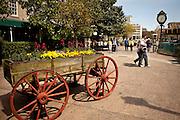 Franklin Square in Savannah, Georgia, USA.