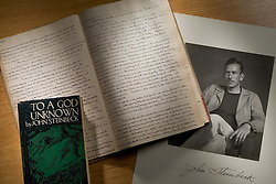 Steinbeck archives at Stanford University