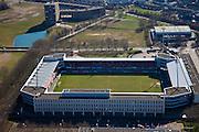 Nederland, Limburg, Maastricht, 07-03-2010; stadion De Geusselt van MVV Maastricht (Eerste Divisie, Jupiler League).luchtfoto (toeslag), aerial photo (additional fee required);.foto/photo Siebe Swart