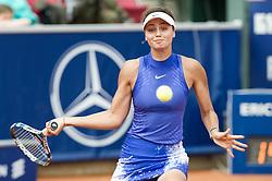 Elizaveta Kulichkova (Russia) at the 2017 WTA Ericsson Open in Båstad, Sweden, July 26, 2017. Photo Credit: Katja Boll/EVENTMEDIA.
