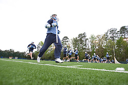 14 April 2008: North Carolina Tar Heels men's lacrosse during a practice day in Chapel Hill, NC.