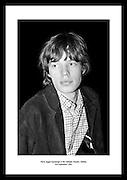 Mick Jagger backstage at the Adelphi Theatre, Dublin<br /> 3rd September 1965