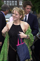 MISS LAURA PARKER BOWLES daughter of Camilla Parker<br />  Bowles, at a party in London on 29th June 2000.OFX 30<br /> © Desmond O'Neill Features:- 020 8971 9600<br />    10 Victoria Mews, London.  SW18 3PY <br /> www.donfeatures.com   photos@donfeatures.com<br /> MINIMUM REPRODUCTION FEE AS AGREED.<br /> PHOTOGRAPH BY DOMINIC O'NEILL