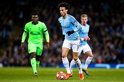 Leroy Sane of Manchester City - Mandatory by-line: Robbie Stephenson/JMP - 12/03/2019 - FOOTBALL - Etihad Stadium - Manchester, England - Manchester City v Schalke - UEFA Champions League, Round of 16, 2nd leg