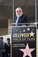 1/26/2011 Donald Sutherland speak to the audience at his Hollywood Walk of Fame ceremony